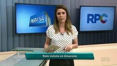 Ladrões assaltam restaurante e pedestre em Umuarama - Nos dois casos, ninguém foi preso.