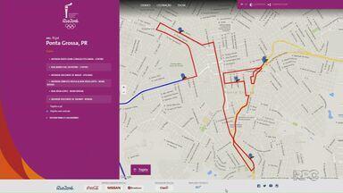 Tocha Olímpica chega à região dia 15 no Parque Vila Velha - Depois de passar por vários pontos segue pra Castro. Confira o roteiro