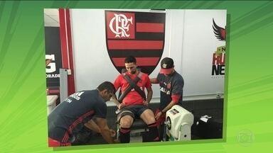 Depois de dois dias de folga, Flamengo volta a treinar e anuncia zagueiro Donatti - O próximo confronto do Rubro-negro é contra o Atlético-MG.