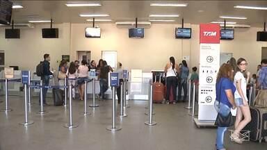 Aumento o preço da passagem no aeroporto de Imperatriz, MA - A redução nos voos que partem da cidade provocou uma alta no preço das passagens.