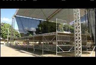 Expoagro de Governador Valadares finaliza preparativos - Parque de Exposições recebe últimos detalhes da festa.