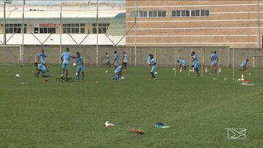 Maranhão volta aos treinos após nova derrota na Série D - Equipe atleticana fica com poucas chances de classificação e depende de combinação de resultados para avançar