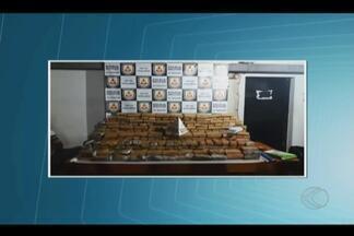 PM apreende cerca de 240 quilos de droga em laboratório de refino em Ituiutaba - Três suspeitos foram detidos durante ação no Bairro Camilo Chaves. Local era monitorado pela PM.