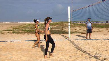Sergipanos se preparam para disputar Brasileiro de Vôlei de Praia em casa - Sergipanos se preparam para disputar Brasileiro de Vôlei de Praia em casa