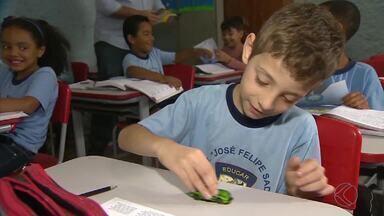 Projeto 'Transitolândia' chega às escolas de Barbacena - Objetivo é ensinar às crianças sobre respeito e segurança no trânsito.