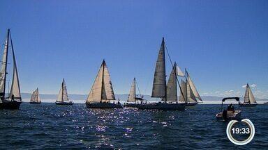 Julho começou quente em Ilhabela - Semana de Vela movimenta o mar e a cidade.