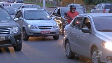 Onda de assaltos preocupa profissionais taxistas de Santarém, PA - Profissionais estão cada vez mais vulneráveis aos bandidos, diz Sindicato.