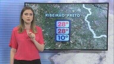 Veja a previsão do tempo para a região de Ribeirão Preto neste sábado (9) - O dia começou frio, mas a temperatura sobe ao longo da tarde.