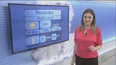 Tempo continua seco neste domingo na região de Campinas - Tempo continua seco neste domingo na região de Campinas. Mínima será 13ºC em Jaguariúna.