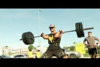 Festival de crossfit tem início neste sábado em Macaé, no RJ - Treinamento físico exige força.