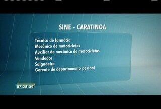 Sine de Caratinga oferece várias vagas de emprego - A Usiminas também está ofertando oportunidades.