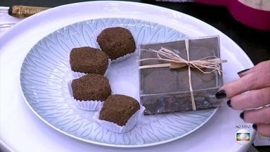 Conheça o chocolate que não é feito de cacau - Paraense mostra que o doce pode ser feito com cupuaçu e deixa Louro José feliz da vida por finalmente poder comer o 'cupulate', o tal chocolate feito da fruta!
