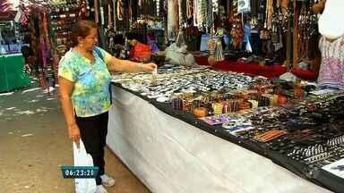 Expocrato tem espaço dedicado ao artesanato da região do Cariri - Entre as peças expostas estão miniaturas, peças de madeira e de biscuit.
