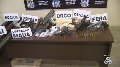 Operação prende seis pessoas por tráfico de drogas em Manaus - Ação foi realizada nesta terça-feira pela Polícia Civil.