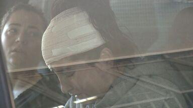 Motorista de acidente com três mortos tem alta médica, diz hospital - Equipe médica disse que Mayara não fez cirurgia, como família informou.Carro caiu no Rio Jucu, no domingo, quando vítimas voltavam de baile.