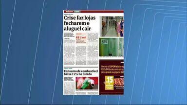 Crise faz lojas fecharem e aluguéis caírem na Grande Vitória - Nas galerias, o aluguel de uma loja pode ser encontrado a R$ 500 por mês.
