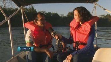 Passeio no rio Machado é opção de turismo em Ji-Paraná - O passeio é uma das principais atrações da região central.