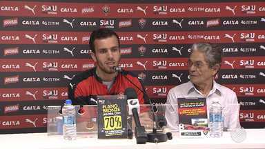 Vitória apresenta mais um reforço para a temporada - Confira as notícias do rubro-negro baiano.