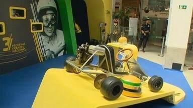 Manaus recebe exposição com acervo oficial de Ayrton Senna - Exposição é organizada pelo Instituto Ayrton Senna.
