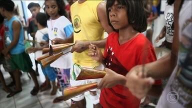 Projeto apoiado pelo Criança Esperança dá nova visão de mundo a adolescentes do Maranhão - Projeto apoiado pelo Criança Esperança dá nova visão de mundo a adolescentes do Maranhão.