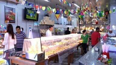 Em tempos de crise, padarias de Resende, RJ, montam estratégias para atrair clientes - Solução é apostar em novidades, com produtos de dar água na boca.