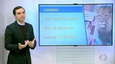 Crise faz contribuintes anteciparem restituição do Imposto de Renda - Consultor de investimentos Fabiano Simões fala sobre o assunto em entrevista ao Bom Dia MS.