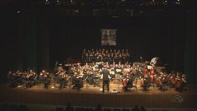 Orquestra do IFSC comemora 15 anos com concerto em Florianópolis - Orquestra do IFSC comemora 15 anos com concerto em Florianópolis