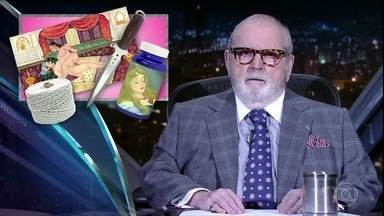 """Jô abre programa de terça-feira comentando as notícias da """"boato press"""" - Fábio Assunção e o filho João Assunção são os convidados da noite"""