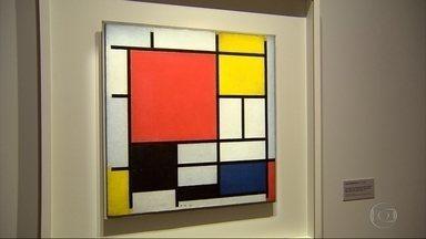 Mostra do artista Mondrian é aberta no CCBB, em Belo Horizonte - Um passeio por obras cheias de cores vivas e formas geométricas.