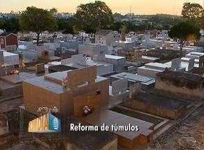 Prazo para reformas em cemitérios segue até o dia 10 de agosto - Limpeza e manutenção deve ocorrer até o dia dos pais.