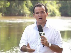 MPE investiga possível crime ambiental no Rio Lontra em Araguaína - MPE investiga possível crime ambiental no Rio Lontra em Araguaína