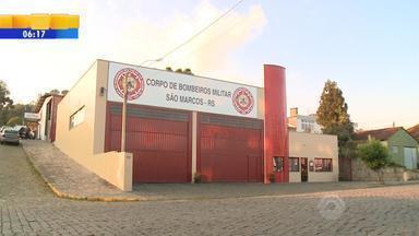 Dois quartéis de bombeiros fecham as portas no RS - Os municípios de Flores da Cunha e São Marcos devem ficar sem o atendimento pelo menos até o fim do mês.
