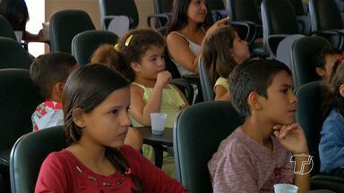 IFPA incentiva filhos de funcionários a praticarem a leitura nas férias - Programação foi realizada na manhã desta sexta-feira (22).