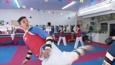 As promessas do taekwondo de Londrina para os Jogos Olímpicos de 2020 - Na série de reportagens sobre as Olimpíadas, o ParanáTV mostra a preparação de atletas que estão de olho na Olimpíada do Japão.