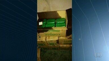 Operação prende suspeitos de furtar R$ 17 milhões em cargas, em Goiás - Entre os presos, está o dono de uma transportadora que, segundo a investigação, orientava caminhoneiros a desviar a carga e comunicar um falso roubo à polícia.