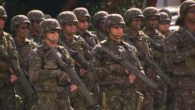 Rio de Janeiro já conta com esquema de segurança para a Olimpíada - São, ao todo, 88 mil homens que estarão mobilizados em todo o país.