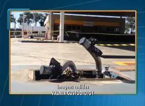 Posto de combustíveis tem bombas roubadas em Pirapozinho - Um funcionário e um caminhoneiros foram amarrados pelos ladrões.