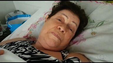 Idosa consegue vaga de UTI quase uma semana depois de sofrer infarto, em Goiânia - Enquanto vaga não saía, ela estava no Cais do Setor Jardim Novo Mundo.