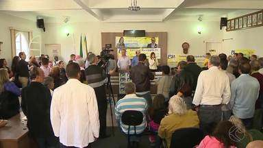 PSL realizou convenção partidária nesse fim de semana em São João del Rei - A coligação apresentou Nivaldo Andrade para candidato à prefeito. Comerciante foi chefe do Executivo por três mandatos na cidade.