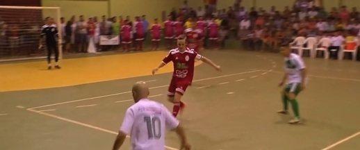 Vila Nova/Alto Paraguai bate Sapezal e vai decidir título da Copa Centro América de Futsal - Vila Nova/Alto Paraguai bate Sapezal e vai decidir título da Copa Centro América de Futsal