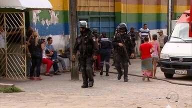 Um adolescente morre e dois ficam feridos em rebelião da Funase de Abreu e Lima - Batalhão de Choque foi chamado para controlar a confusão.
