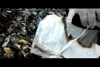 Fiscais do TRE encontram remédios e receitas queimadas em parque estadual em Búzios, RJ - Ação foi após denúncia de crime eleitoral nesta segunda-feira (25).