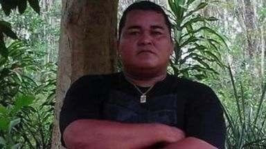 Ex-vigilante que fez reféns em banco morre no hospital, no ES - Ruberval Barcelos deu um tiro no próprio peito durante negociação.Irmã contou que passava por depressão.