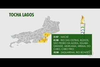 Tocha Olímpica chega ao interior do Estado do RJ nesta semana; confira a programação - Símbolo chega a Petrópolis no sábado (29).