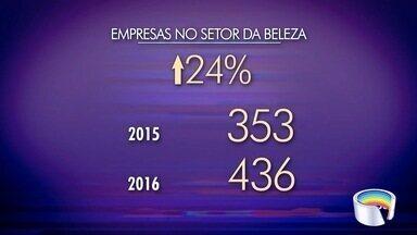 Número de empresas do ramo da beleza cresceu em Taubaté - Setor tem conseguido enfrentar a crise.