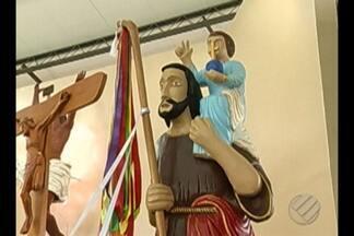 Procissão de São Cristovão percorreu 30 quilômetros na região metropolitana de Belém - O santo é padroeiro dos viajantes e dos motoristas.