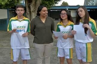Estudantes de Mogi das Cruzes serão guardiões da tocha olímpica na cidade - Alunos tiraram melhores notas em concurso de redação.