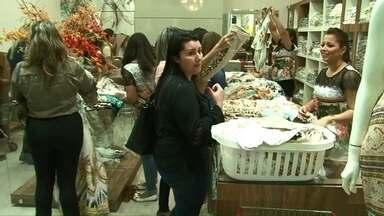 Começa Expovest Primavera/Verão - Lojistas esperam receber 8 mil compradores em Cianorte