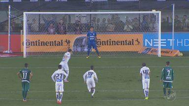 Santos vence o Gama na Copa do Brasil - Confira os três gols do Santos.
