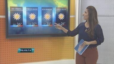 Confira a previsão do tempo para esta quinta-feira (28) - Veja como será o tempo em Rondônia.